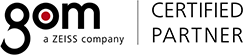 GOM certified partner logo