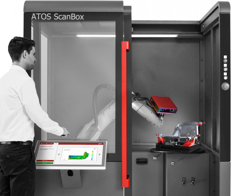 Automatizirano mjerenje - ATOS Scanbox